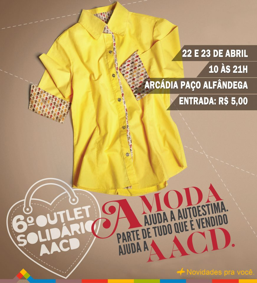 outlet solidário aacd